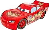 Disney Pixar Cars voiture Flash McQueen rouge, grand format 50 cm, jouet pour enfant, FBN52