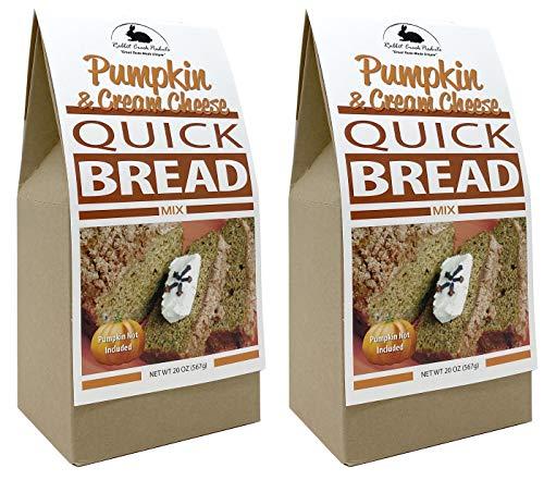 Rabbit Creek Holiday Pumpkin & Cream Cheese Quick Break Mix Pack of 2 – Easy Pumpkin Bread Mix