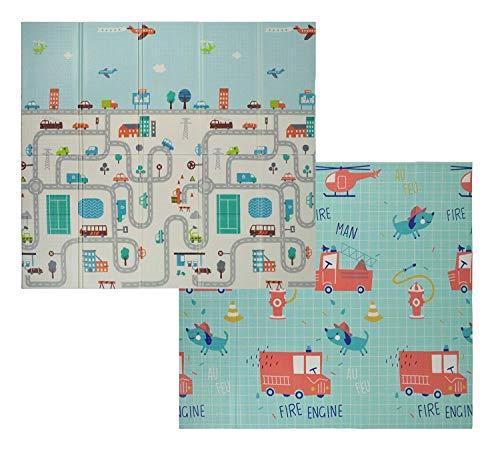 VeloVendo® - Tappeto da Gioco per Bambini XPE Pieghevole (XPE Macchine)