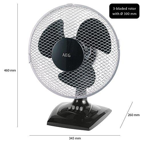 AEG VL 5529 2in1 Tischventilator