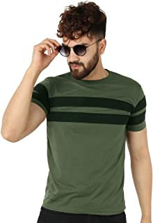 Roden Mens Half Sleeve Cotton Round Neck Tshirt