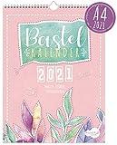A4+ Bastelkalender 2021 [Aquarell] von Trendstuff by Häfft | Fotokalender, DIY-Kalender, Kreativ-Kalender, Geburtstags-Kalender zum Selbstgestalten - mach deinen Liebsten eine Freude!