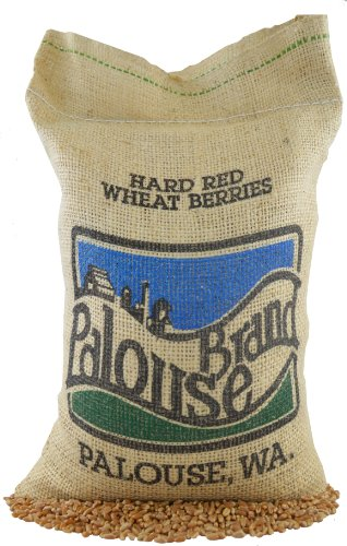 Hard Red Spring Wheat Berries • Non-GMO Project Verified • 5 LBS • 100% Non-Irradiated • Certified Kosher Parve • USA Grown • Field Traced • Burlap Bag