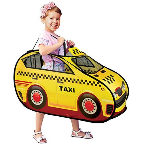 None/Brand Tienda de campaña Plegable, Modelo de Cocheemergente,Taxi de policía, Juego deCasitas para niños, encuesta de Bolas decasa90x55 CM