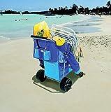 Rio Beach Deluxe Beach Caddy in Blue