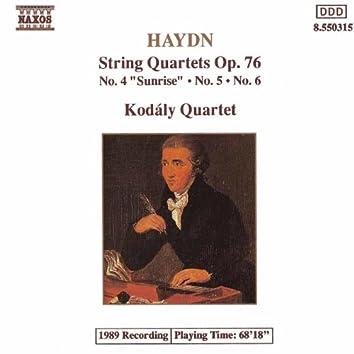 Haydn: String Quartets Op. 76, Nos. 4 - 6