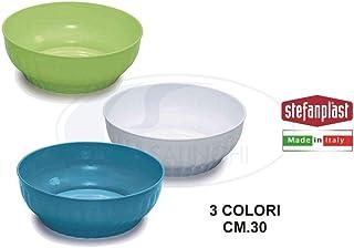 17 cm Multicolore H/&H Pengo 6003717 Sunny Insalatiera