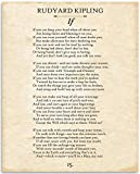 Rudyard Kipling - If - 11x14 Unframed...