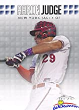 Aaron Judge 2013 Leaf Draft New York Yankees Baseball FIRST EVER ROOKIE Card in MINT Condition in Ultra Pro Top Loader to Protect It! Awesome ROOKIE Card of Yankees Home Run Hitting Superstar! WOWZZER