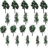 Modell Bäume 20 Stk. Evemodel Gemischte Bäume 8cm-12cm Modellbahn Landschaft Architektur Bäume 1:25-1:300 -