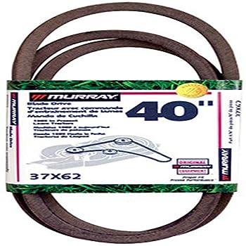Murray 40 Lawn Mower Blade Belt  90- 97 37X62MA