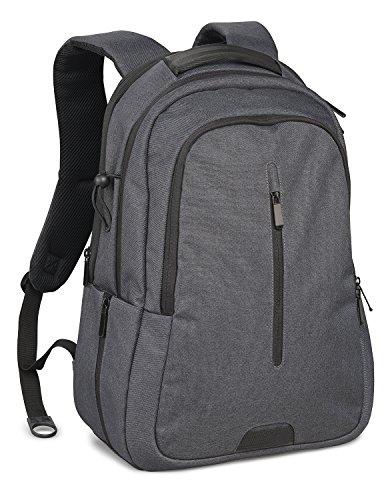 Cullmann STOCKHOLM DayPack 350+ stylischer Kamerarucksack für mittere DSLR-Kameraausrüstung und Tablet-/Laptop-Fach, 33,02 cm (13 Zoll), 26 x 18 x 14 cm grau
