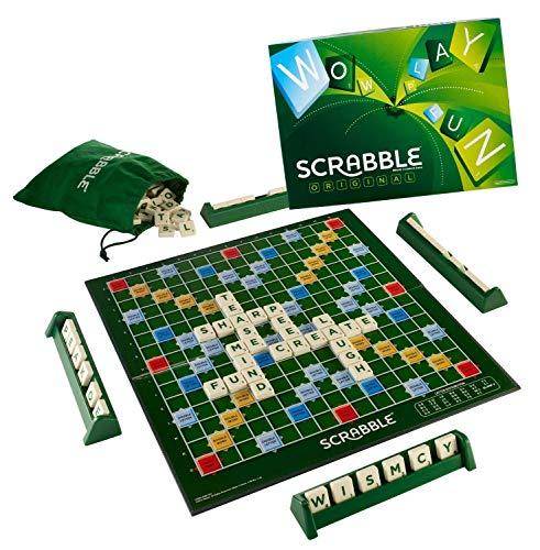 Mattel Scrabble - Juego Original [versión en inglés]