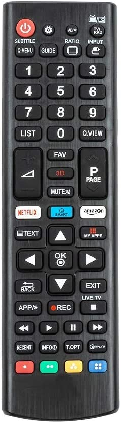 Replacement Universal Remote Control for LG Smart-TV LCD LED UHD QLED TVs.