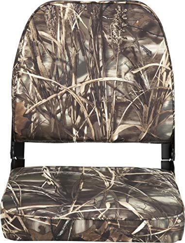attwood 98395CAMO Low Back Fishing Seat - Camo