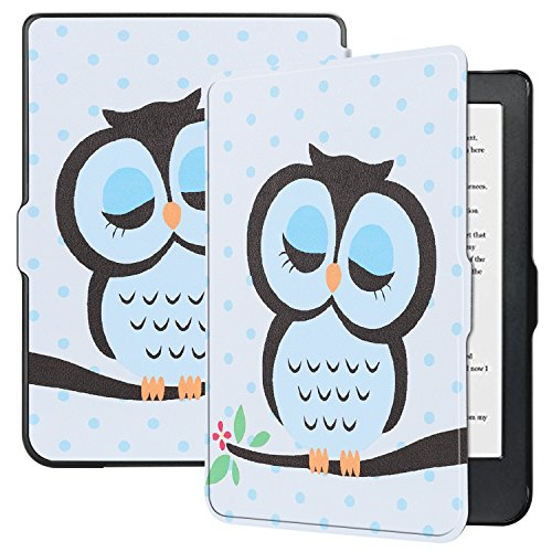"""Esories Cover Kobo Clara HD, Slim Custodia con Funzione di Auto Sveglia/Sonno Case Protettiva in Pelle PU per Kobo Clara HD e-Book Reader 6"""""""