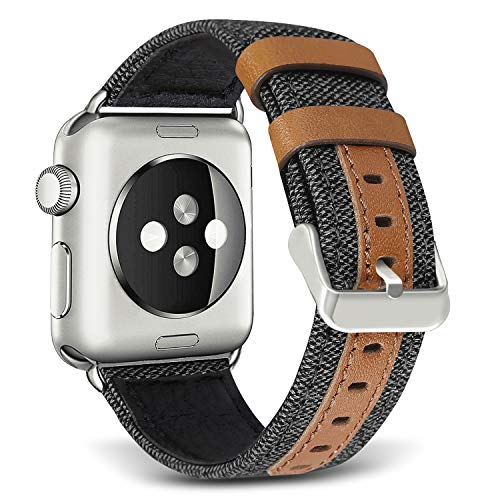 SKYLET Third-Party Apple Watch Leather Band