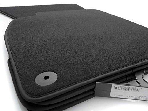 kh Teile Fußmatten A4 S4 RS4 B9 (Feines Velours) Automatten Original Qualität Zubehör Set 4-teilig anthrazit
