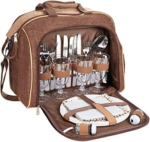 Brubaker -   Picknicktasche für