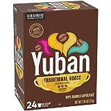 Yuban K Cups Traditional Medium Roast Coffee Pods, 24 count