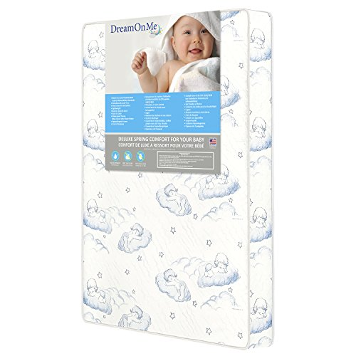 "Dream On Me, 3""Pocket Coil Play Yard Mattress"