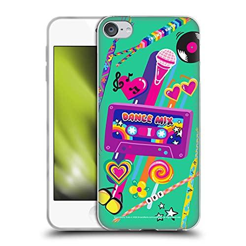 Head Case Designs Officially Licensed Trolls World Tour Dance Mix Rainbow BFFs Soft Gel Case Compatible with Apple Touch 6th Gen/Touch 7th Gen