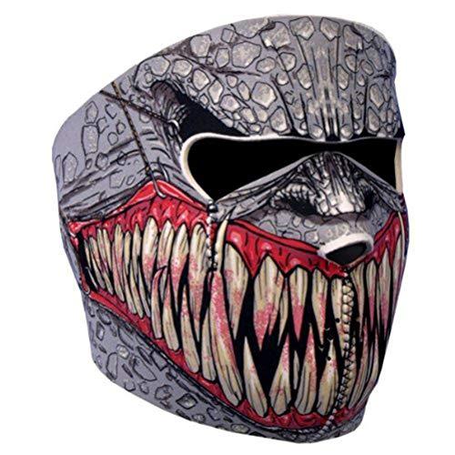 Macabolo - Pañuelo para la cabeza de la motocicleta, multifuncional, máscara de cara completa, deportes al aire libre, protección facial, cuello banda, para caza, pesca, senderismo
