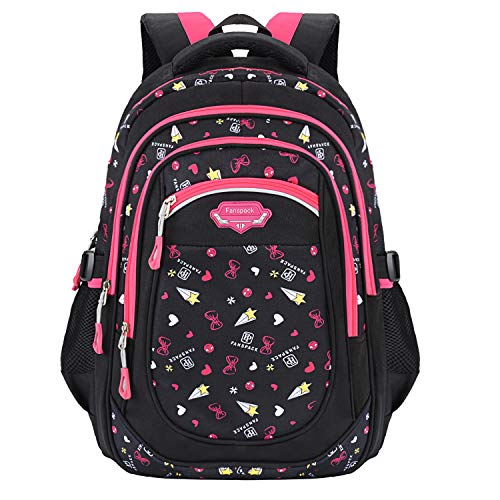 Sac a Dos Fille, Fanspack Cartable Fille Primaire Sac a Dos Fille Scolaire Sac Ecole Fille Cartable Fille Sac Primaire Fille