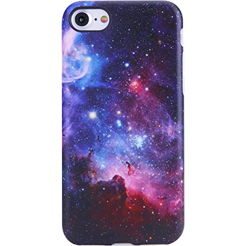 iPhone SE Case 2020,iPhone 7 Case,iPhone 8 Case,VIVIBIN Cute Galaxy Nebula Design for Man Women Girls Kids,TPU Protective Cover Slim Fit Phone Case for iPhone 7/iPhone 8/iPhone SE