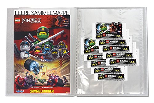 LEGO Ninjago - Serie 3 - Leere Sammelmappe + 10 Booster - Deutsch