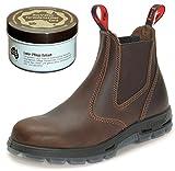 RedbacK UBJK Work Boots aus Australien - Unisex + 250 ml Lederpflege   Jarrah-Brown   UK 10.5 / EU 45.0