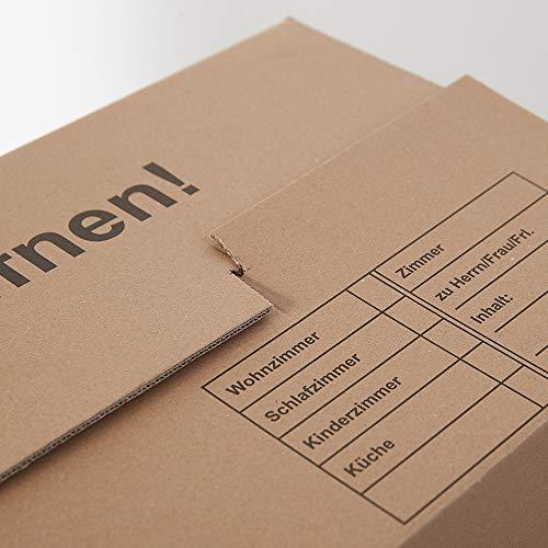 Umzugskartons 10 Stück Profi STABIL 2-wellig von BB-Verpackungen - 6