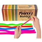 Impresa Products 5-Pack of Stretchy String Fidget / Sensory Toys (BPA/Phthalate/Latex-Free) - Stretches from 10 Inches to 8 Feet!