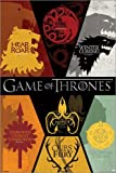 Poster Game of Thrones - Sigils - preiswertes Plakat, XXL