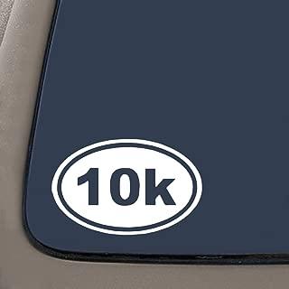 NI2662 Pack 10K Running Euro Oval Sticker - White 5.5