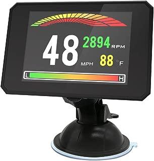 ElfAnt Car Dash Board Windshield OBD2 LCD Head up Speedometers Display Multi Gauges