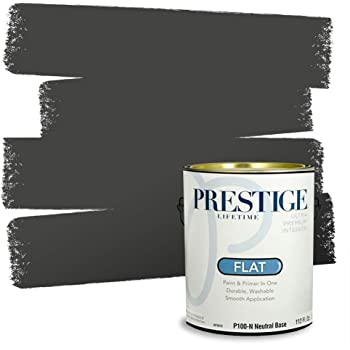 Amazon Com Prestige Paints P100 N Sw6741 Interior Paint And Primer In One 1 Gallon Flat Comparable Match Of Sherwin Williams Derbyshire 1 Gallon Sw119 Derbyshire Home Improvement