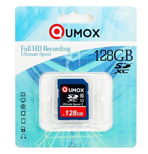 QUMOX 128GB SDXC SPEICHERKARTE Class 10 UHS-I Grade 1