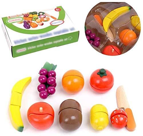 Mopoq Cut and See Kinder Intellectual Kraft, Besteck, Koch, Besteck Kinder pädagogisches Spielzeug