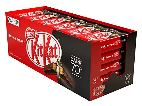 Kit Kat Dark 70% multipack 3x41.5 g - Pack de 24