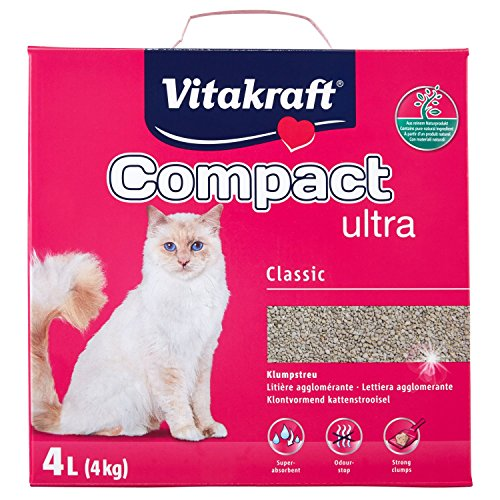 Vitakraft Sand Ultra Klumpstreu für Katzen, 4kg 4kg