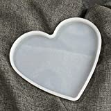 NTBAY Big Love Heart Set Molde de Silicona DIY Resina epoxi, Yeso, Molde de Accesorios de artesanía de Cemento de Arcilla