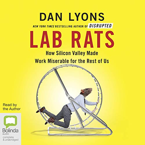 Lab Rats audiobook cover art