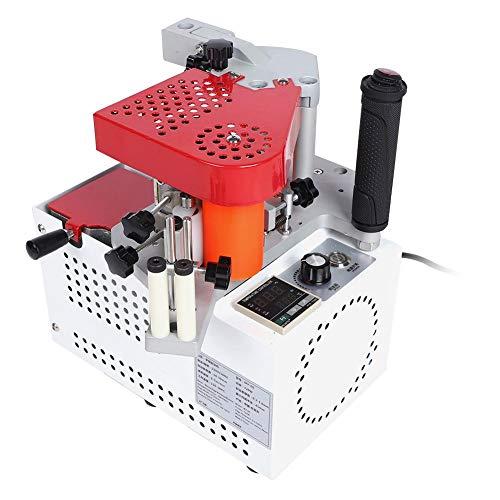 Qinlorgo MY60 Tragbare Kantenanleimmaschine Automatische Holzbearbeitungs-Kantenanleimmaschine Doppelklebemaschine(EU)