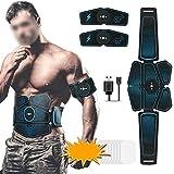 Erwewqeq Stimolatore Muscolare ABS Hip Trainer SME Addominale Elettrico stimolatore Muscolare Esercizio Home Fitness Attrezzature stimolazione elettrica