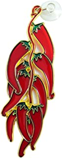Westman Works Red Chili Peppers Suncatcher Window Decoration, 7 1/4 Inch