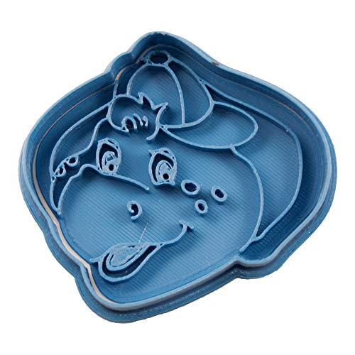 Cuticuter Bj Barney Ausstechform, Blau, 8x 7x 1.5cm