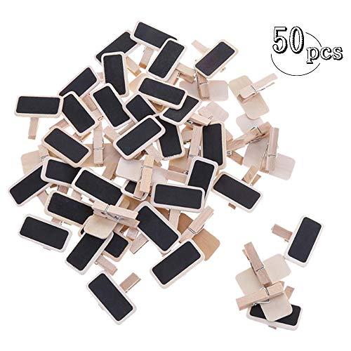 50PCS Mini clips de pizarra