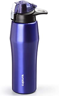Cupture Action Water Bottle Flip Top with Handle - 22oz Stainless SteelVacuum-Insulated