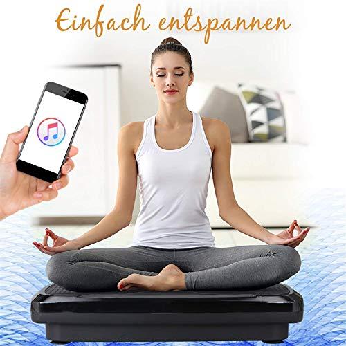 GYL Hong Yuan 3D Vibrationsplatte Übungsgerät – Dual-Motor, geradlinige + 3D-Bewegungs-Vibrationsplattform, Ganzkörper-Vibrationsmaschine für Fitness, Fett- und Gewichtsverlust, Toning und Formen.